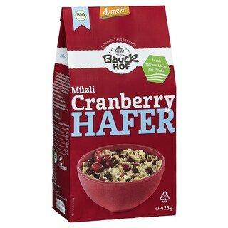 Müzli Cranberry Hafer demeter-bio - Bauck Hof - 425 g