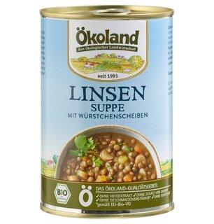 Linsen Suppe Bio - Ökoland - 400 g/
