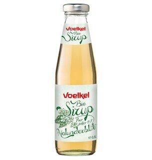 Bio Sirup Holunderblüte - Voelkel - 0,5 Liter/