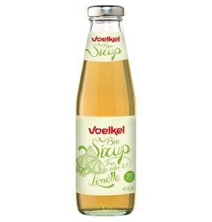 Bio Sirup Limette - Voelkel - 0,5 Liter/