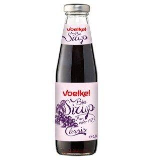 Bio Sirup Cassis - Voelkel - 0,5 Liter/