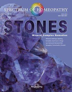 Spectrum of Homeopathy 2019-3, Stones - Imperfect copy, Narayana Verlag