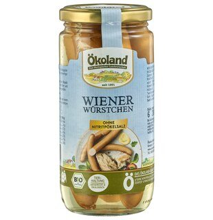 Wiener Würstchen Bio - Ökoland - 380 g/