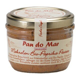 Pan do Mar - Makrelen Bio-Paprika Pastete - 125 g/