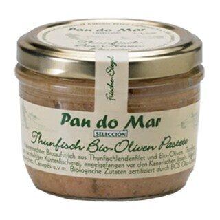 Pan do Mar - Thunfisch Bio-Oliven Pastete - 125 g