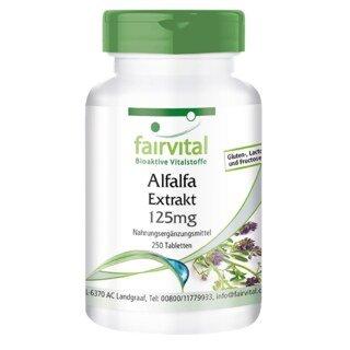 Alfalfa Extrakt 125 mg - 250 Tabletten/