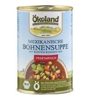 Mexikanische Bohnensuppe vegetarisch bio - Ökoland - 400 g/