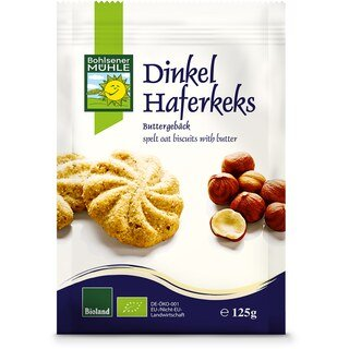 Dinkel Haferkeks bio - Bohlsener Mühle - 125 g/