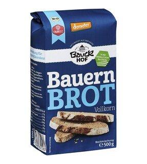 Bauern Brot Vollkorn demeter-bio - Bauck Hof - 500 g/