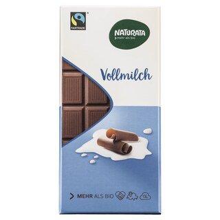 Vollmilch Schokolade bio - Naturata - 100 g/