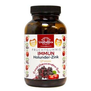 Immun Holunder Zink - Fruchtgummis - 40 Gummis - von Unimedica/