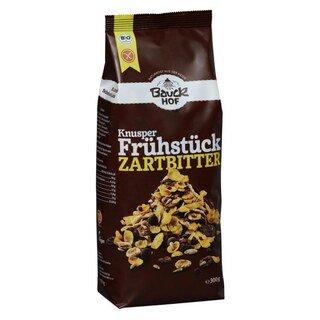 Knusper Frühstück Zartbitter Müsli bio - Bauck Hof - 300 g/