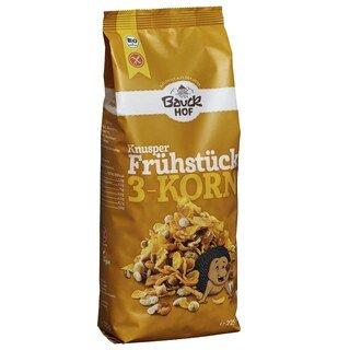 Knusper Frühstück 3 - Korn Müsli bio - Bauck Hof - 225 g/
