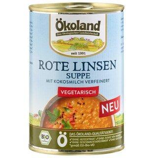 Rote Linsen Suppe bio - Ökoland - 400 g/