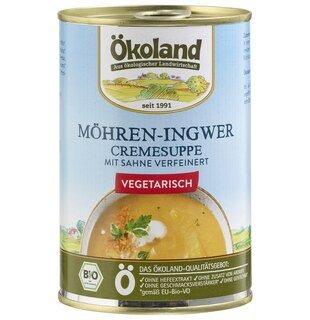 Möhren-Ingwer Cremesuppe bio - Ökoland - 400 g/