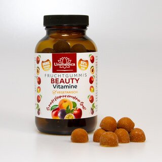 Beauty Vitamine  - Fruchtgummis - 60 Gummis - von Unimedica