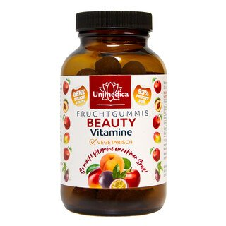 Beauty  - Fruchtgummis - 60 Gummis - von Unimedica/