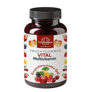 Vital - Multivitamin - Fruchtgummis - 60 Gummis - von Unimedica/
