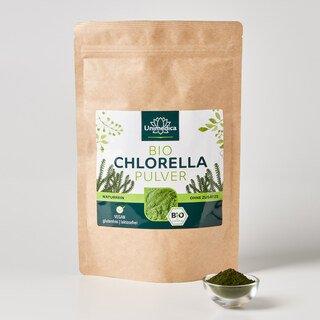 Bio Chlorella Pulver - 250 g - laborgeprüft und naturrein - von Unimedica