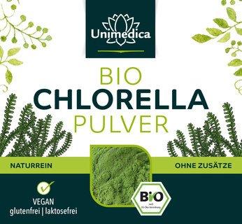 Chlorella bio en poudre - 250 g  par Unimedica