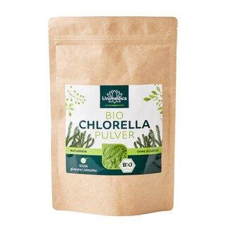 Bio Chlorella Pulver - 250 g - laborgeprüft und naturrein - von Unimedica/
