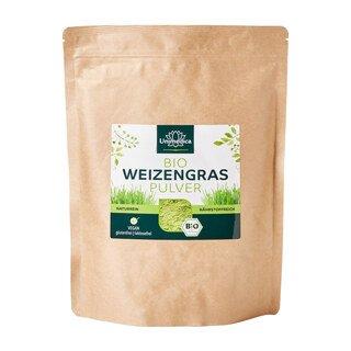 Bio Weizengras Pulver -  naturrein - 500g - von Unimedica/