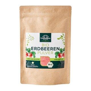 Organic strawberry powder - 100% natural - from Unimedica/