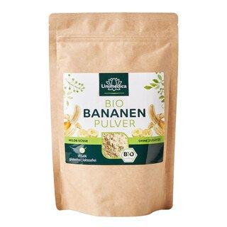 Poudre de banane BIO, naturelle, 250 g, végétalienne - d'Unimedica/