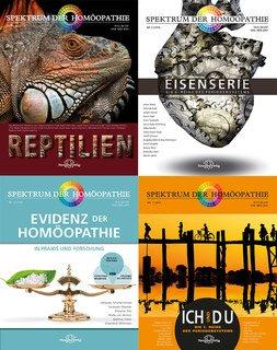 4er-Set - Spektrum der Homöopathie - Ich und Du / Eisenserie / Evidenz / Reptilien/Narayana Verlag