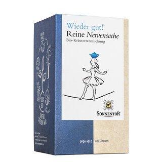 Wieder gut - Reine Nervensache Bio-Kräuterteemischung - Sonnentor - 18 Beutel/