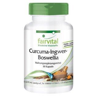 Curcuma-Ingwer-Boswellia - 90 Kapseln/