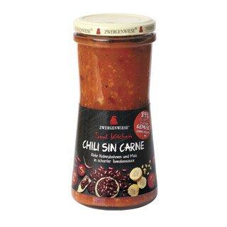 Soul Kitchen Chili sin Carne bio - Zwergenwiese - 420 ml/