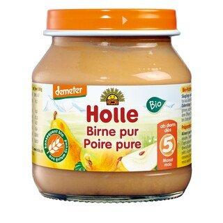 Birne pur demeter-bio - Holle - 125 g/