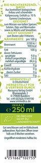 Bio Nachtkerzenöl nativ - naturrein - kaltgepresst - 250 ml - von Unimedica