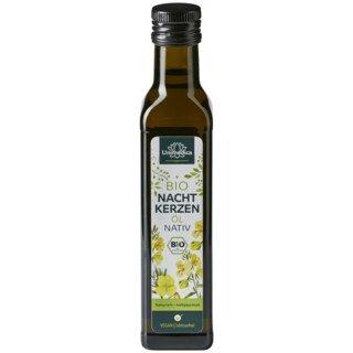 Bio Nachtkerzenöl nativ - naturrein - kaltgepresst - 250 ml - von Unimedica/
