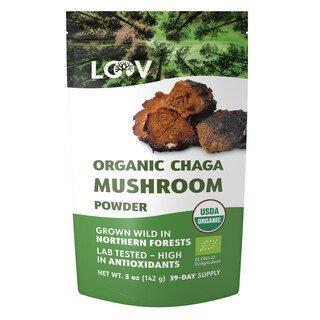 Chaga Pilzpulver bio - LOOV - 142 g/