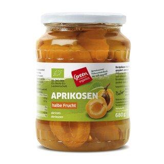 Aprikosen halbe Frucht Bio - green organics - 680 g
