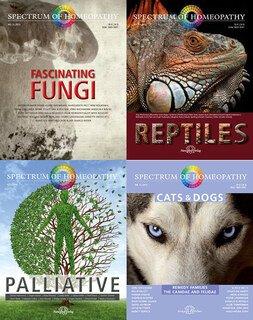 Narayana Verlag: Set - Spectrum of Homeopathy - Cats&Dogs / Palliative / Fungi / Reptiles