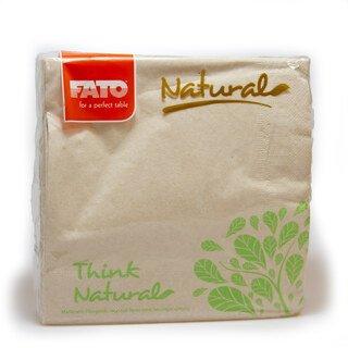 Servietten Natural - FATO - 50 Stück/