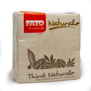 Servietten Natural - FATO - 100 Stück/