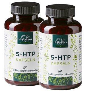 Set de 2 Gélules de 5-HTP - 100 mg - 2x 180 gélules - par Unimedica/