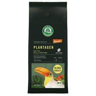 Plantagen Kaffee - Helle Röstung ganze Bohne Demeter-Bio - Lebensbaum - 250 g/