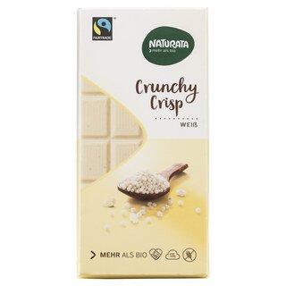 Crunchy Crisp weiße Schokolade Bio - Naturata - 100 g/