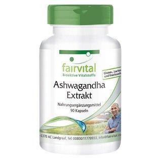 Ashwagandha Extrakt - 70 g - 90 Kapseln/