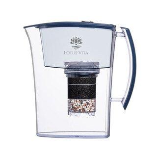 Filterkaraffe blau NATURA PLUS®  - Lotus Vita/