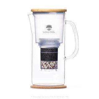Glas-Filterkanne NATURA PLUS® - Lotus Vita/