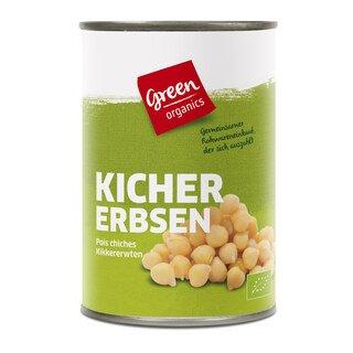 Kichererbsen Bio - green organics - 400 g/