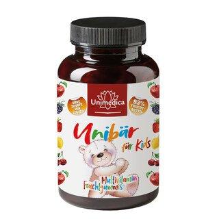 Unibär für Kids - Multivitamin - Fruchtgummis - 60 Gummis - von Unimedica/