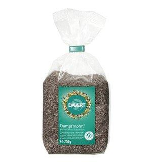 Dampfmohn - gemahlener Blaumohn Bio - Davert - 200 g/