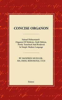Concise Organon, Manfred Mueller